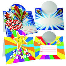 Stand Up Star Pupil Certificates 40pk  medium