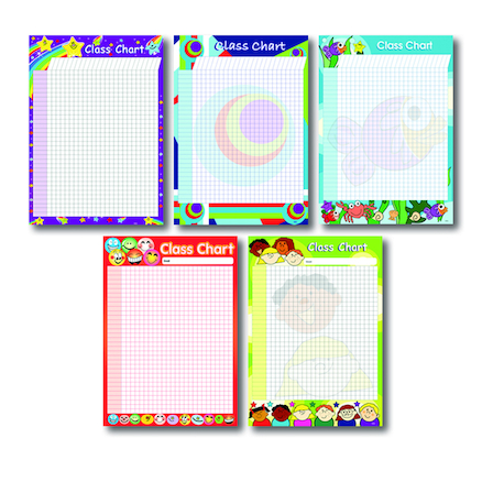 A2 Mixed Class Merit Charts 5pk  large