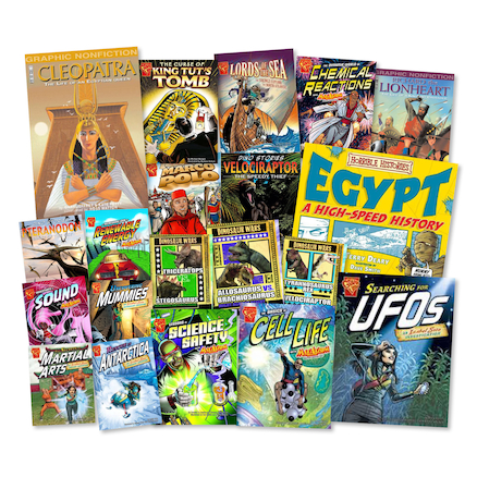 KS2 Graphic Non Fiction Books 20pk  large