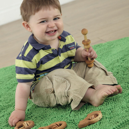 Baby Wooden Rattles 4pk suitable for ages 1yr+  large