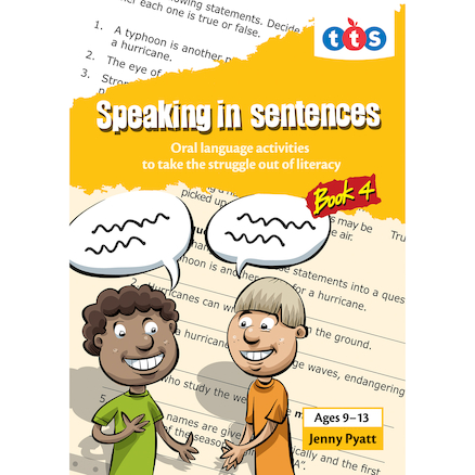 Speaking In Sentences Activity Books  large