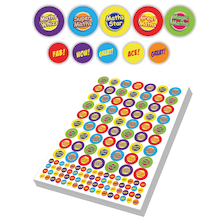 Assorted Maths Stickers 3930pk  medium