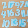 Wooden Wipe Clean Number Formation Set 1-20  small