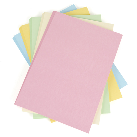 Assorted Pastel Card  large