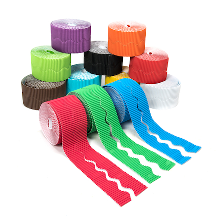 Assorted Bordette Display Roll L15m 12pk  large