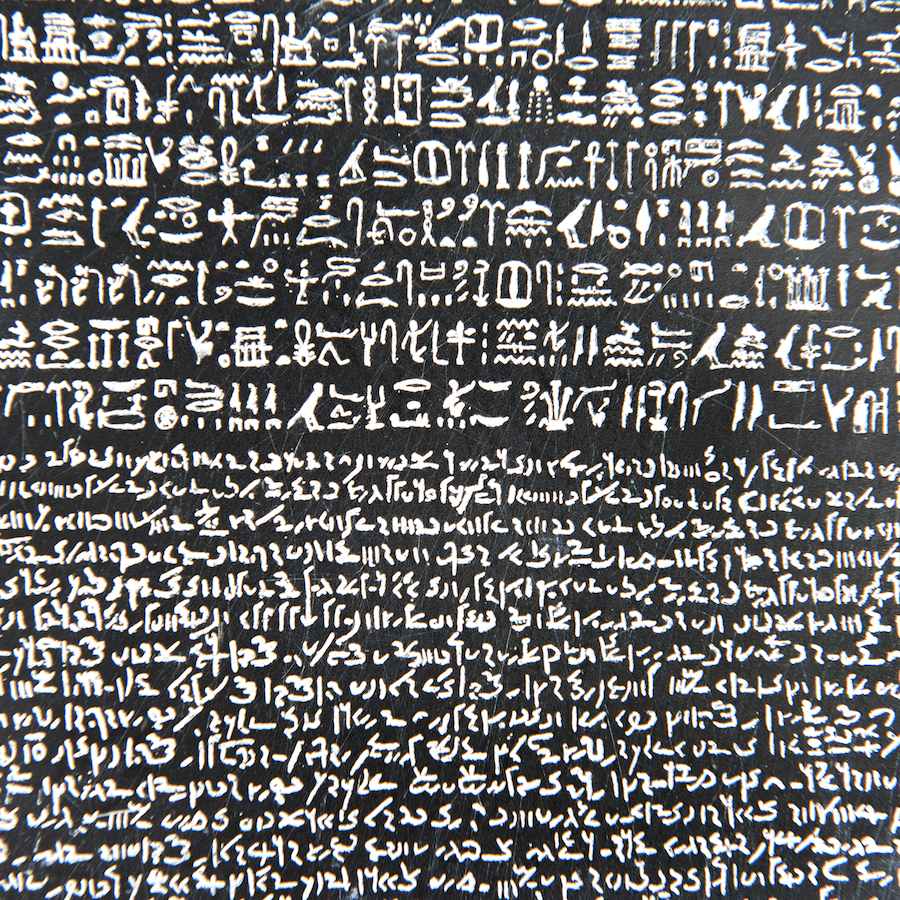 What is the Rosetta Stone  HISTORY