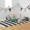 Black And White Bunting  small