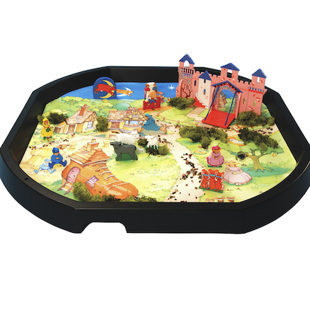 Active World Tuff Tray Nursery Rhymes Mat  large