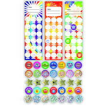 Bookmark Chart and Sticker Class Set 30pk  medium