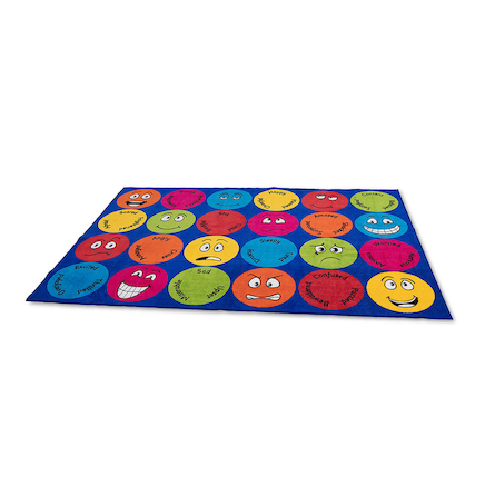 Emotions Rectangular Carpet  large