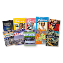 Learn About Europe Books 10pk  medium