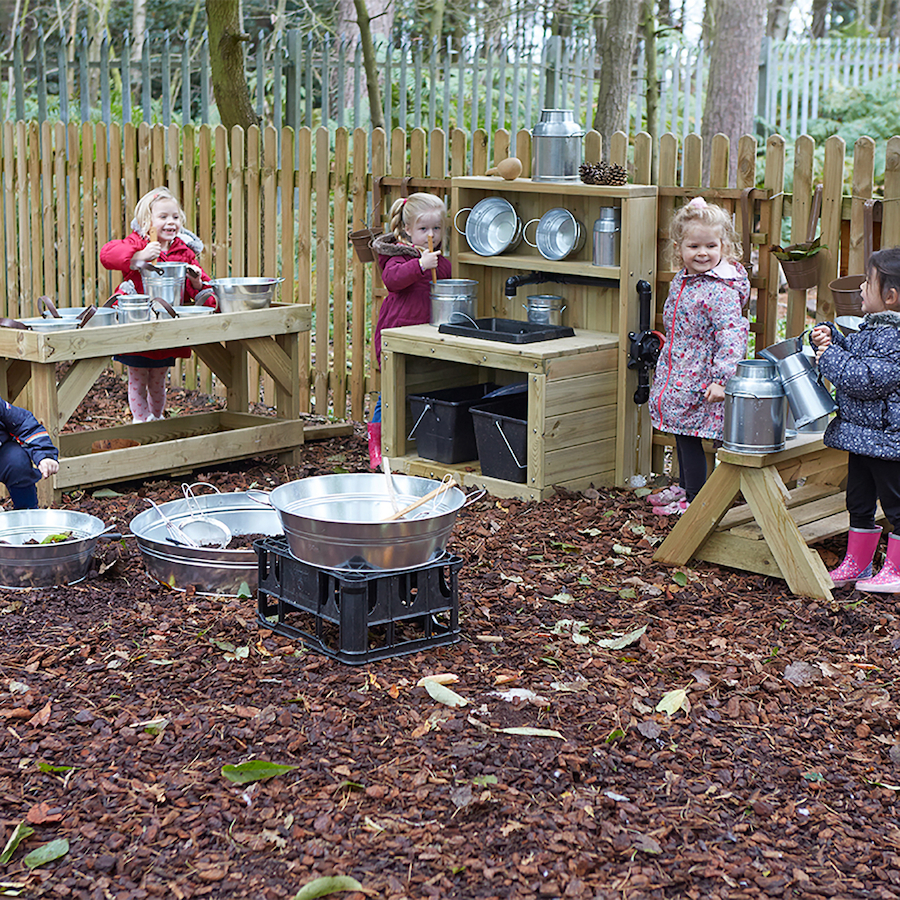 Buy Metal Messy Play Container Set
