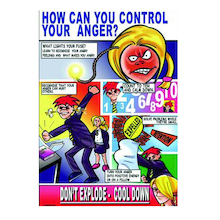 KS3 Control Your Anger Posters 3pk  medium