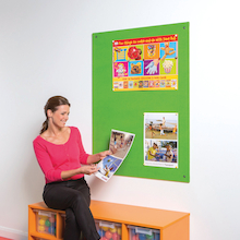 ColourPlus Frameless Noticeboards  medium