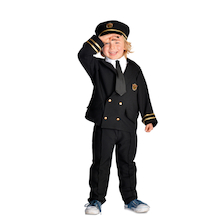 Pilot Role Play Dressing Up Costume  medium