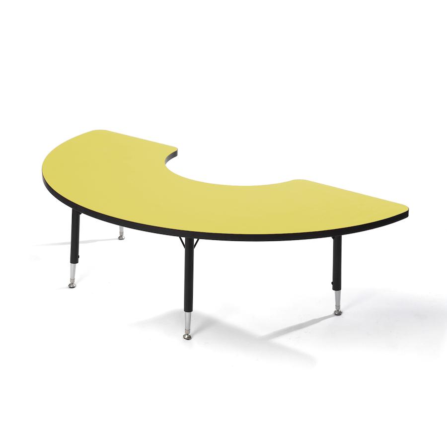 buy height adjustable arc classroom table tts. Black Bedroom Furniture Sets. Home Design Ideas
