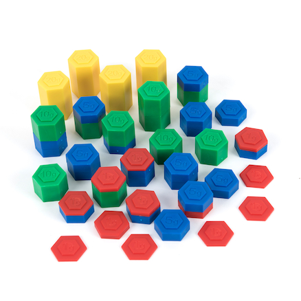 Weights Hex Stacking 54pk  large
