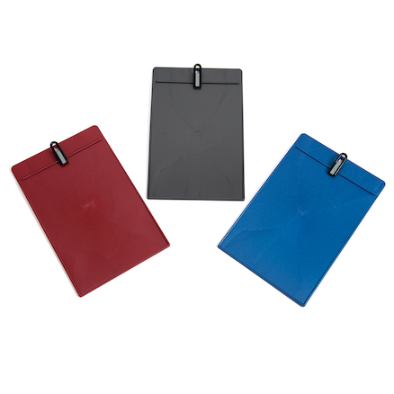 Outdoor Lightweight Plastic Clipboards 24pk  large