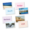Physical and Human Features Cards A5 20pk  small