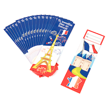 French Reward Bookmarks 20pk  medium