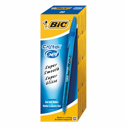 Bic® Cristal Gel Pen 20pk  large