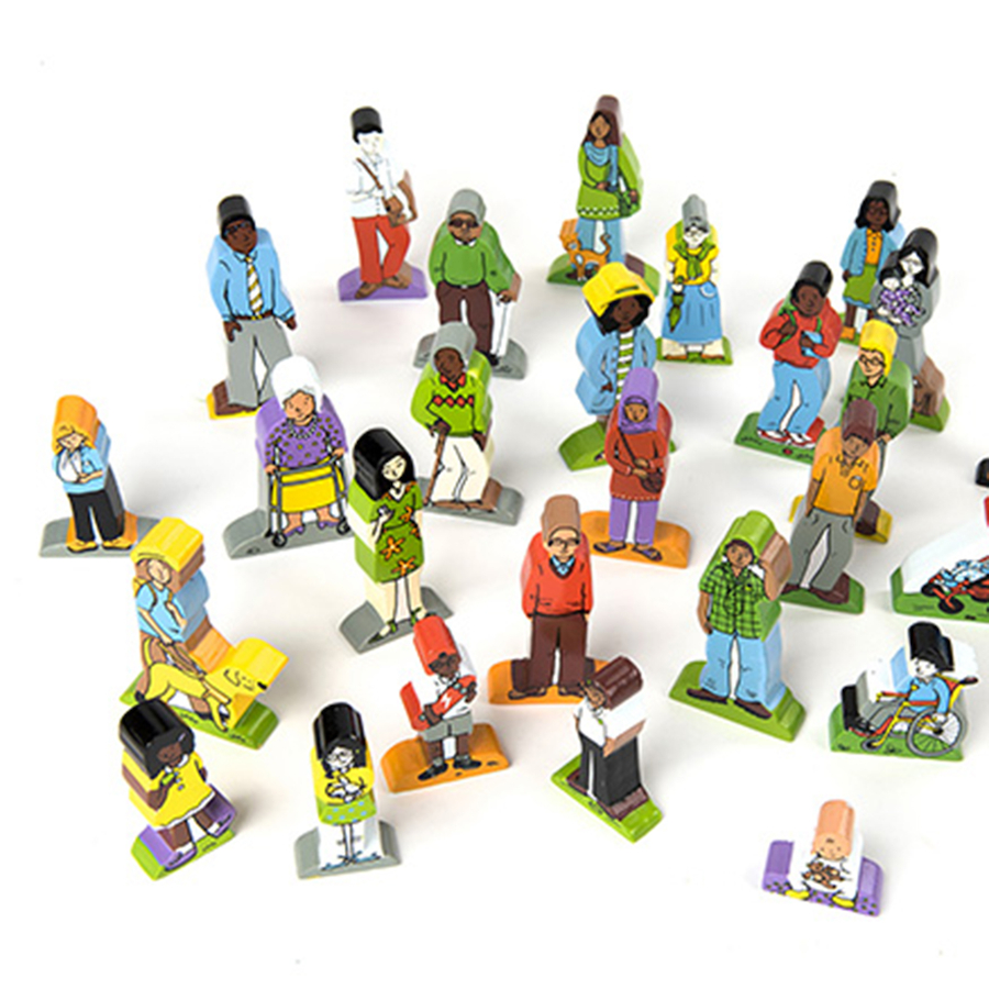 Buy Small World Diverse Community Characters 25pcs Tts