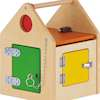 Wooden House with Locks and Latches  small