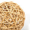 Outdoor Natural Wooden Beads and Wicker Balls  small