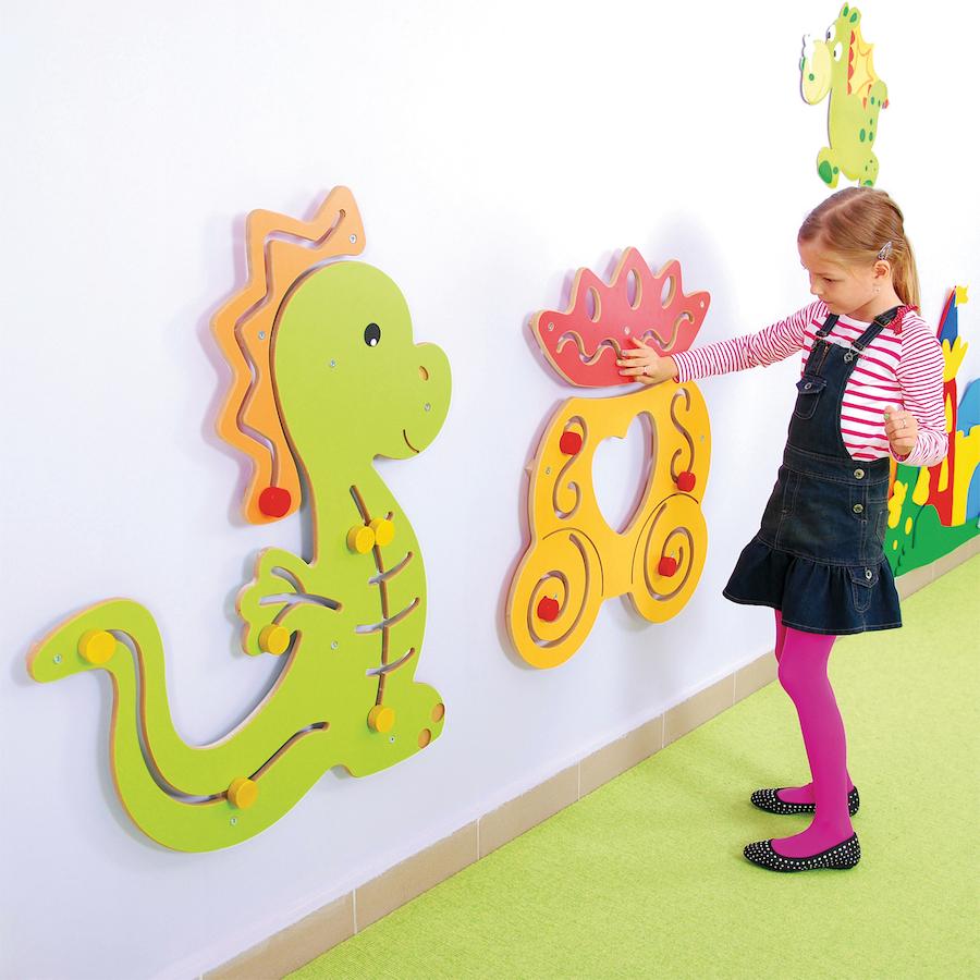 Girls Kids Childrens Wooden Nursery Bedroom Furniture Toy: Buy Sensory Manipulative MDF Wall Panels