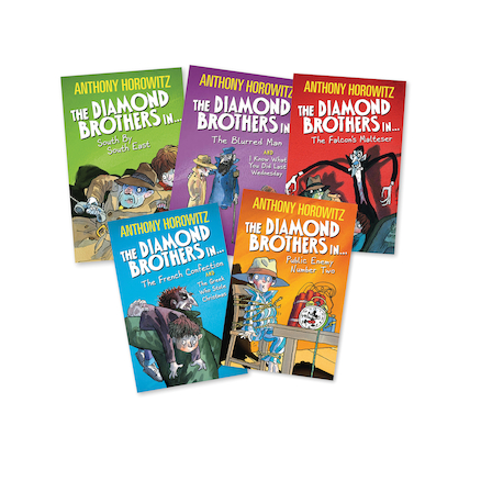 The Diamons Brothers Books 5pk  large
