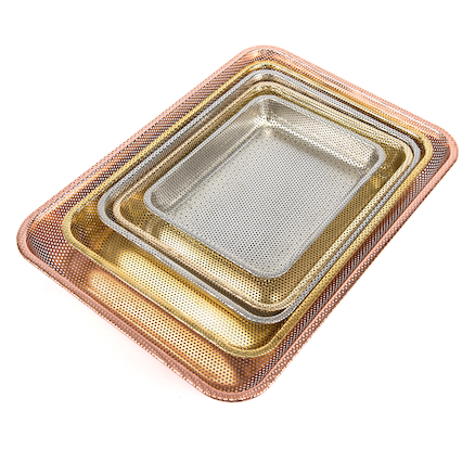 Metal  Nesting Tray Set 5pcs  large