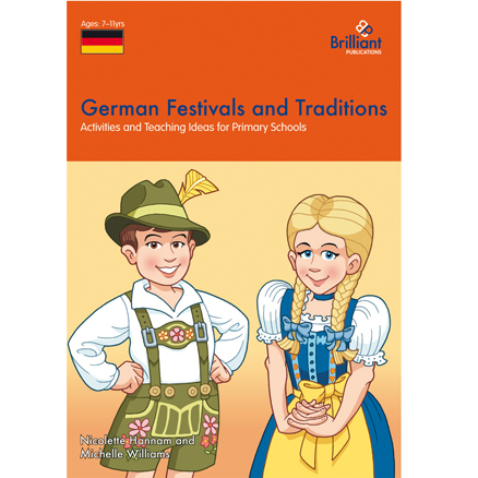 German Festivals and Traditions Book  large