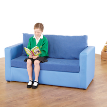 Child Sized Home Sofa and Chair  medium