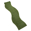 Artificial Wavy Grass Mat L200 x W80cm  small