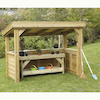 Outdoor Wooden Roleplay Room  small