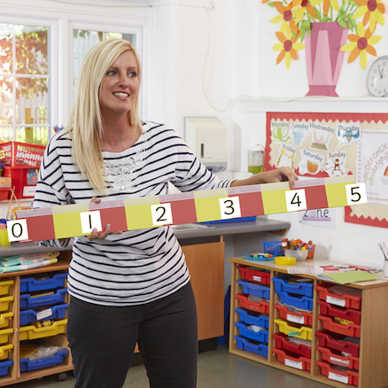 Giant Magnetic Counting Stick L1m  large