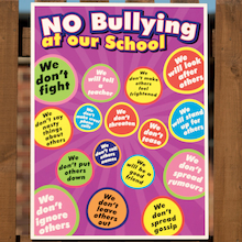 No Bullying Playground Sign  medium