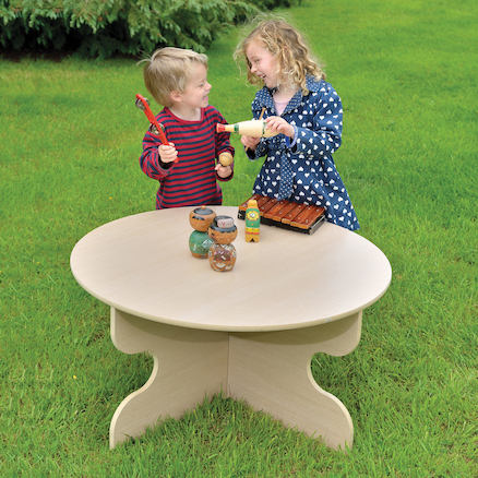 Outdoor Round Table  large