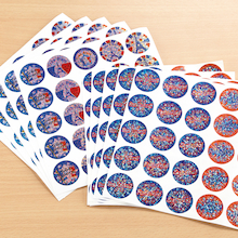 French Sparkling Reward Stickers 250pk  medium