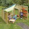 Outdoor Wooden Role Play Area  small