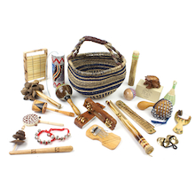 Multicultural Percussion Instruments 20 Players  medium