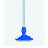 54'' Silver and Blue Squeegee Handle  small