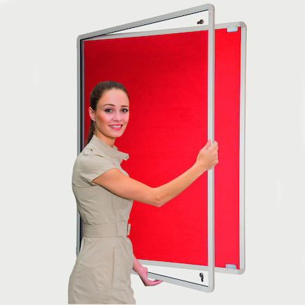 Decorative Framed Lockable Noticeboards  large