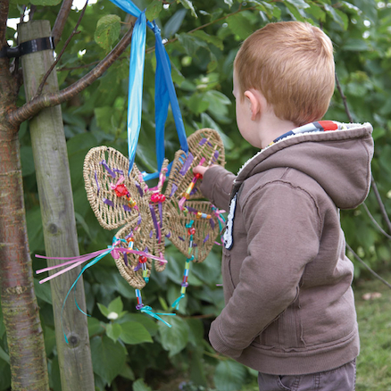 Weaving Dragonflies and Butterflies 4pcs  large
