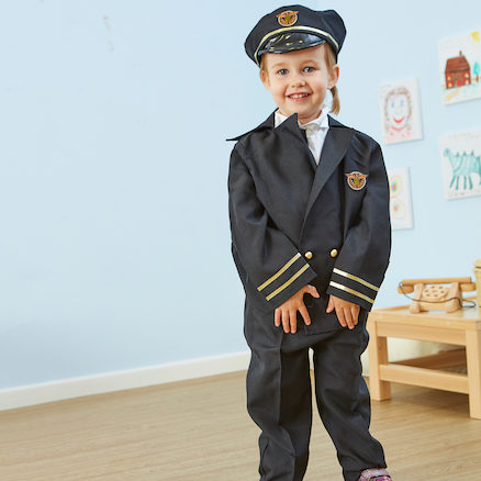 Pilot Dressing Up Costume  large