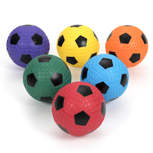 Soft Playground Footballs Size 4 6pk  medium