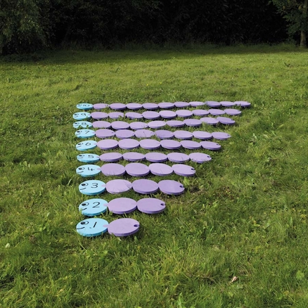 Giant Foam Outdoor Number Bond Game 1-10 65pcs  large