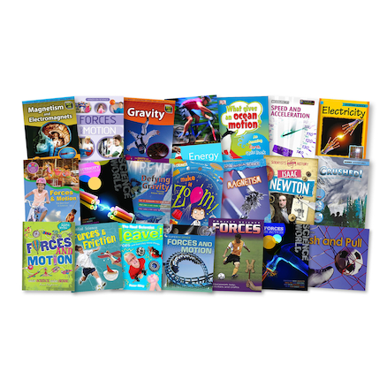 KS2 Forces and Movement Books 10pk  large