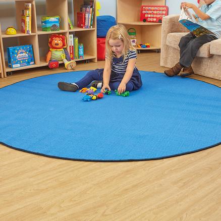 circle floor mats large