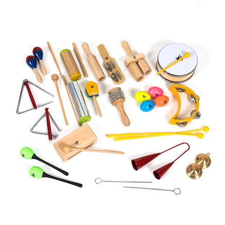 Percussion Instruments Pack 20 Players  large